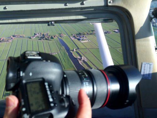 Luchtfotografie boven Zoeterwoude - Lion Air