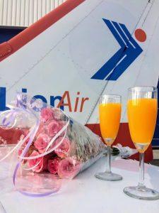 Huwelijkaanzoek- Lion Air