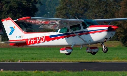 cadeaubon voor een vlucht op de PH-MDL